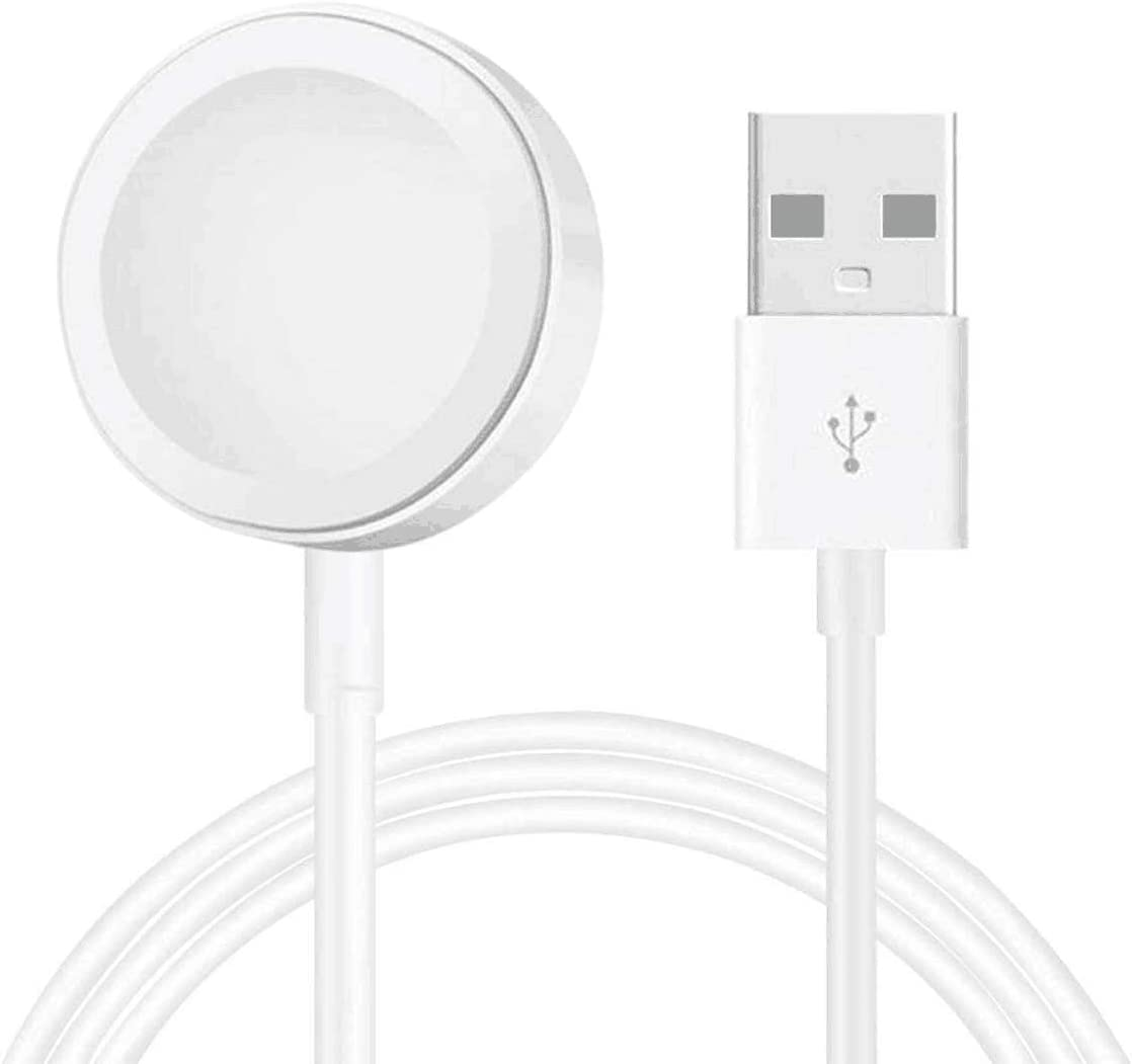 AICase iWatch Charger,Magnetic Watch Wireless Charger iWatch Charging Cable for Apple Watch Series SE/6/5/4/3/2/1,38mm,40mm,42mm,44mm (1M)