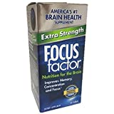 FOCUS Factor Dietary Supplement, Extra Strength, 60 Tablets Per Bottle (4 Bottles) For Sale