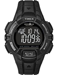 Timex Men's T5K793GP Ironman 30-Lap Rugged Black and Black