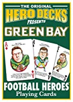 Green Bay Packers Football Heroes Playing Cards