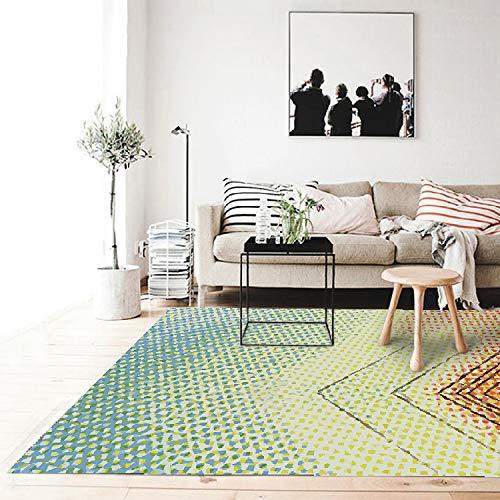 GSYDDTG Alfombras Personalizadas para el hogar Sofá de la Sala de Estar Mesa de Centro Alfombra y Alfombra 3D HD Dormitorio...