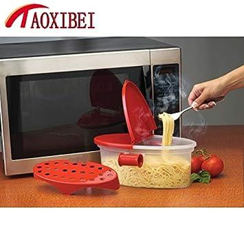Amazon.com: Caja de pasta de microondas, para horno ...