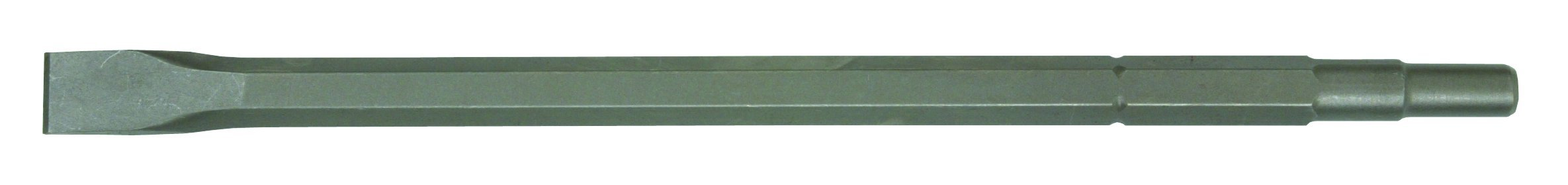 Hitachi 985382B Spline 3/4-Inch Hex 21/32-Inch Round 1-Inch by 18-Inch Narrow Chisel, 25-Pack
