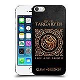Official HBO Game Of Thrones Targaryen Metallic Sigils Hard Back Case for Apple iPhone 5 iPhone 5s iPhone SE