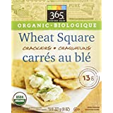 365 Everyday Value Organic Wheat Square Crackers, 8 oz