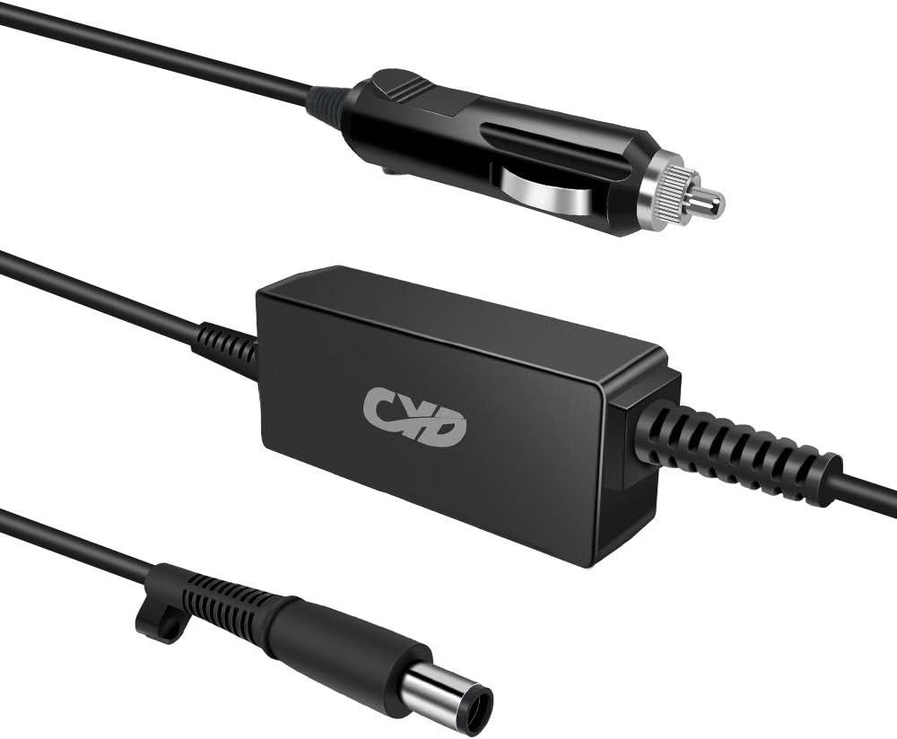 QYD 45W 65W Laptop Car Charger Replacement for Ac Adapter Hp Pavilion G4 G6 G7 DV4 DM4 DV5 DV6 DV7 G60 EliteBook 2540p 2560p 2000-2C29WM 2000-2D49WM 2000-2B09WM 2000-2D24DX Notebook Power Supply Cord
