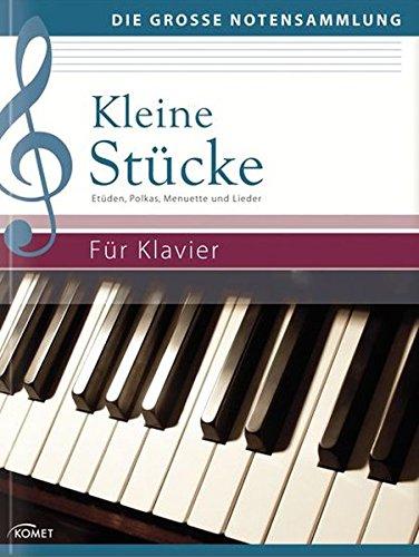 Kleine Stücke: Etüden, Polkas, Menuette und Lieder - Für Klavier (Die große Notensammlung)