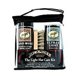 Bickmore Ultra-X Powdered Light Hat Cleaner Kit - Remove Dirt, Dust, Fingerprints & Sweat Stains - Great for Fur - Felt Cowboy Hats, Baseball Hats, Fedoras, Sun Hats & More
