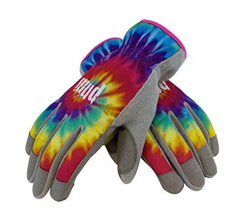 MUD 029TD/L Peace Tie Dye Garden Glove,
