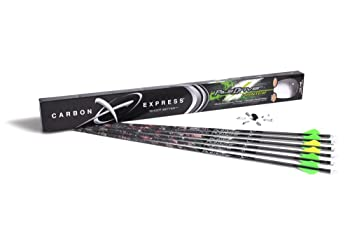 Carbon Express PileDriver Hunter Fletched BuffTuff Carbon Arrows