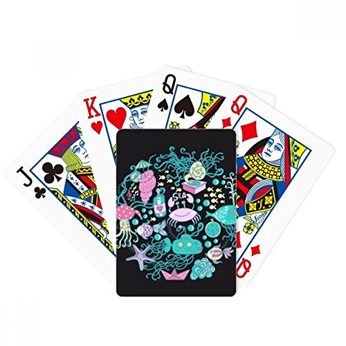 Marine Organism Music Octopus Poker Playing Card Tabletop Board Game Gift by beatChong