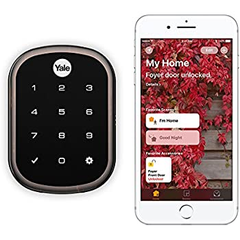 Yale Assure Lock SL with iM1 - HomeKit Enabled, Works with Siri - Oil Rubbed Bronze (YRD256iM10B)
