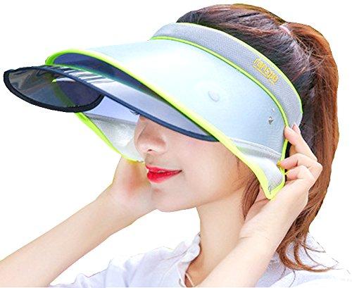 Golf Tennis Visor Cap (SUN Summer Unisex Visor UV Protection Hat Cap Hiking Golf Tennis Outdoor (5))