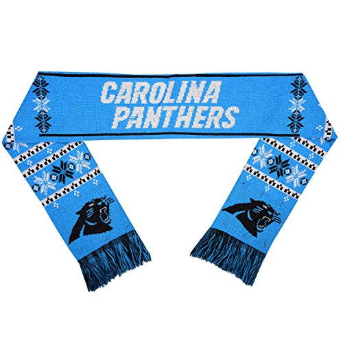 Panthers Santa Hat (Carolina Panthers Light Up Scarf)