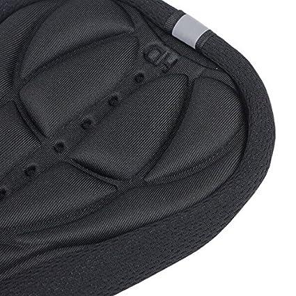 weiches Kissen Silikon 3D Zariavo Store Sattel/überzug f/ür Radfahrer