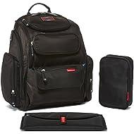 Bag Nation Diaper Bag Backpack with Stroller Straps,...