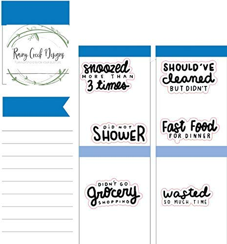 Yes I Did Snarky Planner Stickers for Erin Condren Happy Planner and Hobonichi Planners #052 Plum Planner