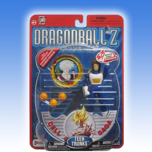 """Dragonball Z 5"""" TEEN TRUNKS w/GOLD HAIR (ELECTRONICS BOUTIQUE EXCLUSIVE - EB) Action Figure - IRWIN"""