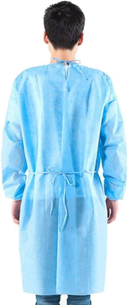 antistatica 1 pezzo tuta protettiva per indumenti personali antipolvere indumenti medici usa e getta contro lepidemia di virus SpirWoRchlan 1//10 x indumenti di protezione dal virus
