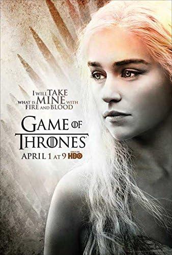 小ポスター「ゲーム・オブ・スローンズ」Game of Thrones、エミリア・クラーク