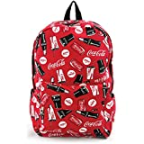Coca-Cola Drinks Backpack in Canvas Material