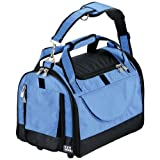 Pet Gear World Traveler with Wheels for Cats and Small Dogs, Pet Carrier, Large, Caribbean Blue, My Pet Supplies