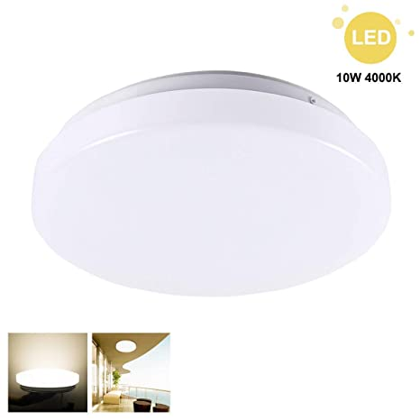 Green Click LED Lámpara de techo 10 W 750 lúmenes blanca ...