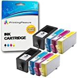Printing Pleasure 8 (2 SETS) Compatible Chipped Ink Cartridges Replacement for HP 920XL for HP Officejet 6000 6500 6500A 7000 7500A - Black/Cyan/Magenta/Yellow, High Capacity