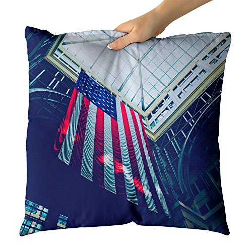 Westlake Art - Metropolitan Organization - Decorative Throw Pillow Cushion - Picture Photography Artwork Home Decor Living Room - 26x26 Inch by Westlake Art