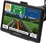 Carelove 7 inch Car GPS Windows CE 6.0 HD Screen Navigation System Navigator SD Card With Newest Map Build-In Lifetime Free Map Update (7inch)