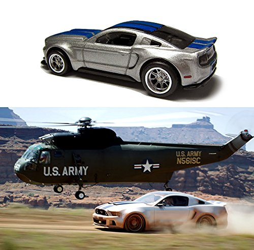 Need For Speed Hot Wheels 3 Car Set -Pontiac GTO, Mustang