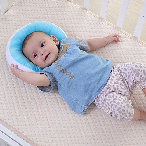 Kakiblin Baby Pillow Anti Flat Head Syndrome Ultra Soft