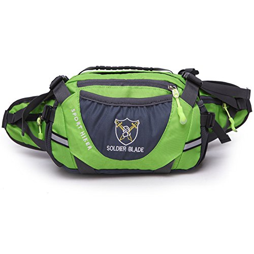 Outdoor Sport Large Capacity Waist Bag Fanny Pack For Men...