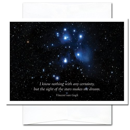 New Year Cards-Sight of Stars 10 Cards & Env Professional or Personal Use Made in USA by CroninCards by CroninCards (Image #2)