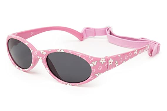 Kiddus Gafas de sol para niña niño entre 2 y 6 años, hecho de goma TOTALMENTE FLEXIBLES, 100% protección rayos UVA y UVB, seguras, confortables y muy ...