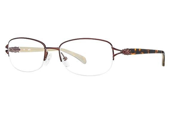 SAVVY Eyeglasses SAVVY 371 Matte Brown 52MM at Amazon Men\'s Clothing ...
