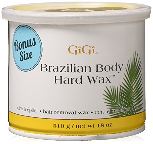 Gigi Brazilian Body Hard Wax 18 ounce (Bonus Size)