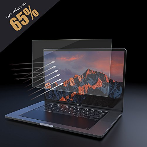 - PERFECTSIGHT Screen Protector Compatible with Apple MacBook Pro 13 Inch A1425/A1502 [Eye Care] Anti Glare Blue Light Filter Fingerprint Proof Bubble Free 2.5D Curved Edge Tempered Glass Film, 1 Pack