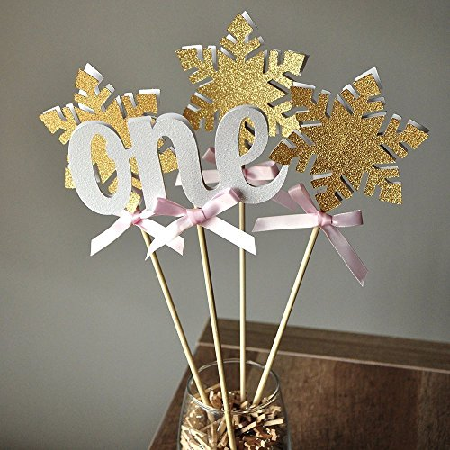 Pink and gold centerpieces amazon
