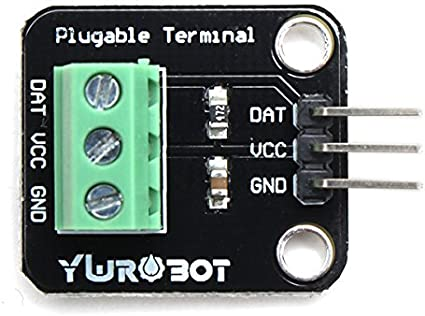Partstower DS18B20 Bytes Digital Temperature Sensor Module DC 5V For Arduino electronic building blocks