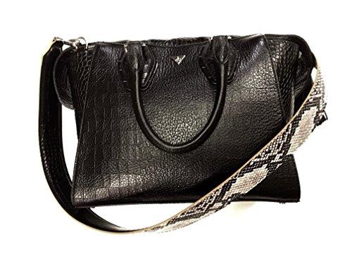 Sam Edelman Women's Jodie Tote Black Croco Leather One Size ()