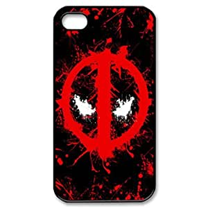 UVW deadpool Snap-on Hard Case Cover Skin compatible with Apple iPhone 4 4S 4G by runtopwell