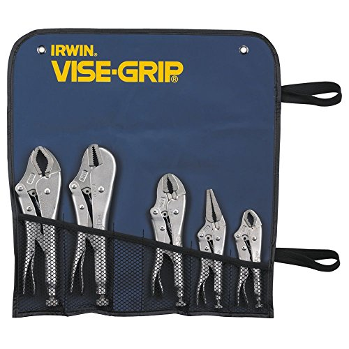 Sets Locking Original Pliers (IRWIN VISE-GRIP Original Locking Pliers Set, 5 Piece Set, 68)