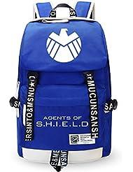 YOURNELO DC Comics Marvel Heroes High Capacity Rucksack School Backpack Bookbag