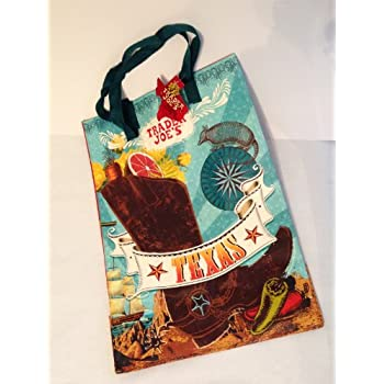 Amazon Com Trader Joe S Reusable Shopping Bag Texas Theme