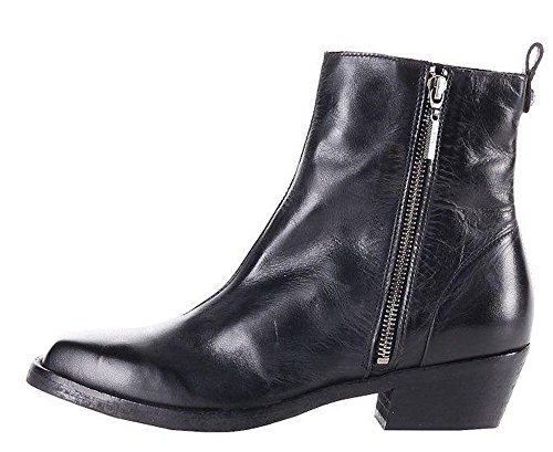 Diesel Boots Genuine leather Ankle Black Yousston Women's Boots rUprq