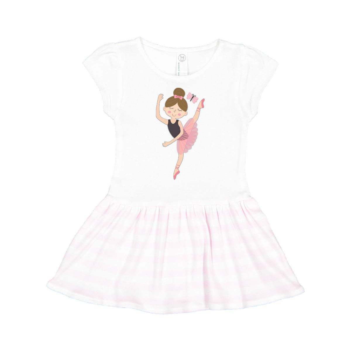 inktastic Ballet Gifts for Little Girls Toddler Dress