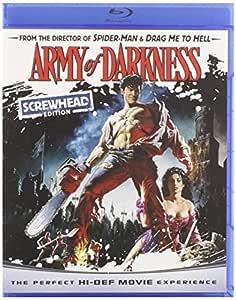 Army of Darkness (Screwhead Edition) [Blu-ray]