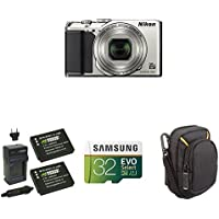 Nikon COOLPIX A900 Digital Camera (Silver) Starter Bundle