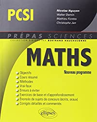 Maths PCSI Conforme au Programme 2013